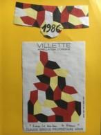9100 - Villette 1986 Claude Giroud  Suisse Sous La Couleur Le Blanc - Art