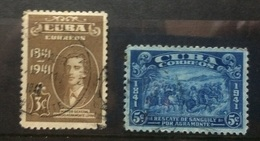 CUBA 1942 General I.A. Loynaz Birth Centenary Set Used - Cuba