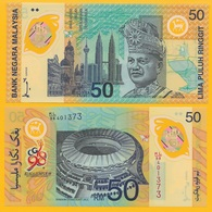 Malaysia 50 Ringgit P-45 1998 Commemorative (without Folder) UNC - Malaysie