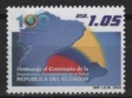 Ecuador (2002) Yv. 1696  /  Salud - Health - Medicine - Sante - Geneeskunde