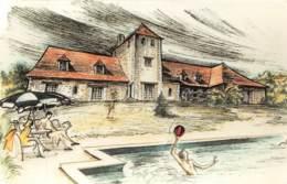 La Farandole CUBLAC Chambre D Hotes Gite Rural Ferme De Sejour Piscine Produits Fermiers(SCAN RECTO VERSO)NONO0094 - Autres Communes