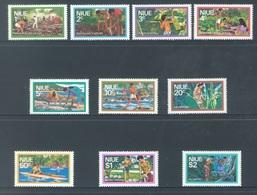 NIUE - MNH/**. - 1976   - Yv 165-174 -  Lot 18389 - Niue