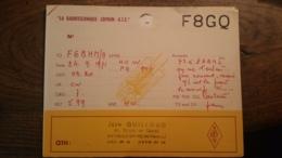 Carte QSL - France - Vaulx-en-Velin (69) - La Radiotechnique - Coprim - RTC - F8GQ - Radio Amateur