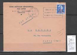 Reunion - Lettre  De SAINT DENIS - 1958 - Reunion Island (1852-1975)