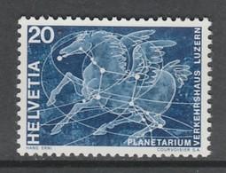 TIMBRE NEUF DE SUISSE - INAUGURATION DU PLANETARIUM N° Y&T 829 - Astronomie