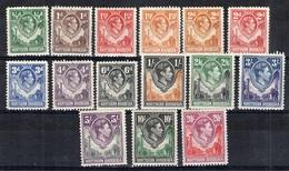 Rhodésie Du Nord YT N° 25/37 Neufs *. B/TB. A Saisir! - Northern Rhodesia (...-1963)
