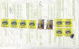 IRAQ 1991 REGISTERED PARCEL CARD TO PAKISTAN. - Iraq