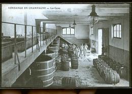 VENDANGE EN CHAMPAGNE LES CUVES                                        JLM - Epernay