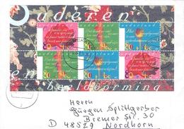 NETHERLANDS - LETTER 1997 DENEKAMP - OUDEREN Mi #BLOCK 53 - Period 1980-... (Beatrix)