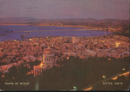 Haifa At Night [AA17-1.985 - Israel