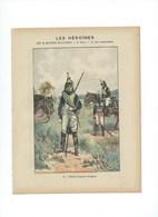 Les Héroïnes Thérèse Figueur (DRAGON)  Protège-cahier Couverture 220 X 175  Bon état 3 Scans - Protège-cahiers
