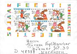 NETHERLANDS - LETTER 1998 HENGELO- NORDHORN VOR HET KIND Mi #BLOCK 58 - Period 1980-... (Beatrix)