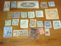 LE/AJ : Lot De Timbres,entier Postaux,de Dimension, Cartes-lettres,timbres Parfum,. Etat Moyen  Regarder Les Photos ) - Otros