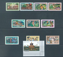 NIUE - MNH/**. - 1977   - OVERPRINT - Yv 185-195 -  Lot 18390 - Niue