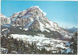 V3072 San Vito Di Cadore (Belluno) - Panorama Invernale Col Monte Antelao / Viaggiata 1970 - Italia