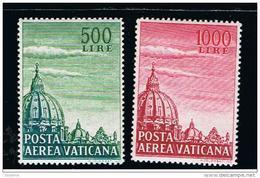 1958 - VATICANO - S01 - SET OF 2 STAMPS ** - Unused Stamps