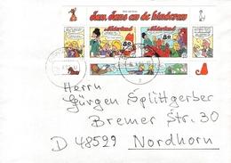 NETHERLANDS - LETTER 1997 DENEKAMP - NORDHORN COMICS III - Period 1980-... (Beatrix)