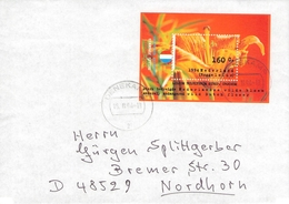 NETHERLANDS - LETTER 1994 DENEKAMP - NORDHORN LILIUM Mi #BLOCK 40 - Period 1980-... (Beatrix)