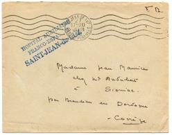 Cachet Hôpital Militaire De Saint Jean De Luz Juin 1940 - Marcophilie (Lettres)