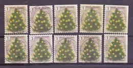 Belgie - 2018 - OBP - Kerstzegels - Centrale Stempel - Compleet - Usati