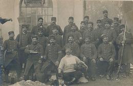 CARTE PHOTO MILITAIRE - 96 Eme - Regimente