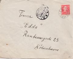 Denmark.  Letter With Starcancellation KLITMØLLER - 1913-47 (Christian X)