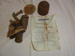 Vestige Militaria Protection Gravereaux 1935 - Other