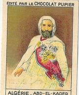 Image Chocolat Pupier Algérie Abd El Kader N°12 - Vieux Papiers