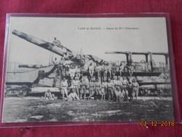 CPA - Camp De Mailly - Canon De 32 Cm Glissement - Ausrüstung