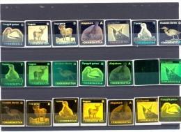 2008. Turkmenistan, Fauna Of Turkmenistan, 21v With Hologramm, Mint/** - Turkmenistán