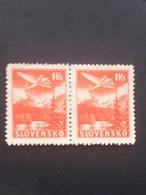Slovakia - 1939 - Mi:SK 50X, Sn:SK C3, Yt:SK PA3 O.G - 2er. - Look Scan - Unused Stamps