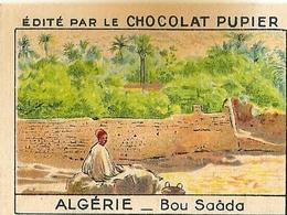 Image Chocolat Pupier Algérie Bou Saâda N°20 - Vieux Papiers