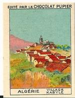 Image Chocolat Pupier Algérie Village Kabyle N°16 - Vieux Papiers