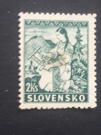 Slovakia - 1939 - Mi:SK 43, Sn:SK 40, Yt:SK 47 O.G - Look Scan - Slowakische Republik