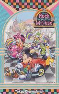 Télécarte NEUVE Japon / MF-1002565 - DISNEY Disneyland - ROCK AROUND THE MOUSE - Japan MINT Phonecard - Disney