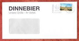 Brief, EF Schloss Sanssouci Sk, Entwertet MS Panda WWF Briefzentrum 10, 2017 (61061) - BRD