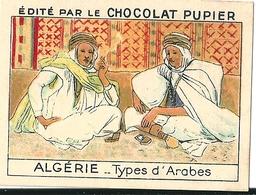 Image Chocolat Pupier Algérie Types D'Arabes N°24 - Vieux Papiers