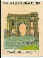 Image Chocolat Pupier Algérie Timgad N°19 - Vieux Papiers