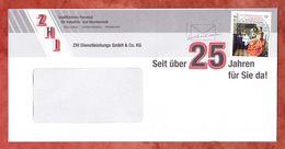 Brief, EF Van Delft Maedchen Sk, Entwertet MS Schreib Mal Wieder Briefzentrum 92, 2017 (61064) - BRD