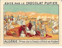 Image Chocolat Pupier Algérie Prise De La Smala D'Abd El Kader N°13 - Vieux Papiers