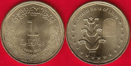 Libya 1 Dinar 2017 (1438) UNC - Libye