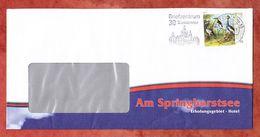 Brief, EF Oudry Pfefferfresser Sk, Entwertet MS Hannover Briefzentrum 30, 2017 (61066) - BRD