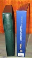LINDNER - RELIURE + ETUI REGULAR VERT (REF. 1124) - Albums & Reliures