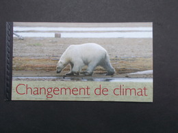 CARNET DE 24 TIMBRES : CHANGEMENT DE CLIMAT - Carnets