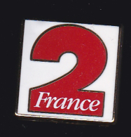 59138-Pin's.France 2.television.medias.signé Arthus Bertrand.. - Arthus Bertrand