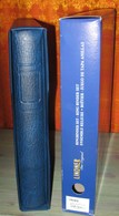 LINDNER - RELIURE + ETUI REGULAR BLEU (REF. 1124) - Albums & Reliures