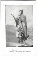 Mission Religieuse Au Basutoland - Le Salut D'une Paienne De La Montagne Avec Son Enfant - Lesotho