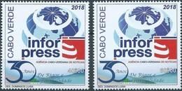 Cabo Verde Cape Verde 30e Aniversario Da INFORPRESS 2018 MNH - Cape Verde