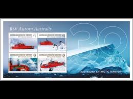 G19 AAT Australian Antarctic Territory Territoire Australien De L'Antarctique  Bloc RSV Aurora Australis 2018 - Territoire Antarctique Australien (AAT)