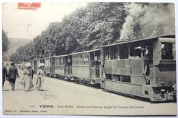 COURS BRILLIER - ARRIVÉE DU TRAMWAY ( LIGNE DE VIENNE Á CHARAVINES ) - VIENNE - Vienne